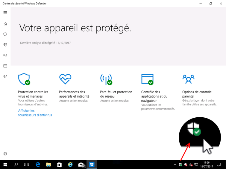 Image 4 : [Test] Windows Defender : que vaut l'antivirus intégré à Windows 10 ?