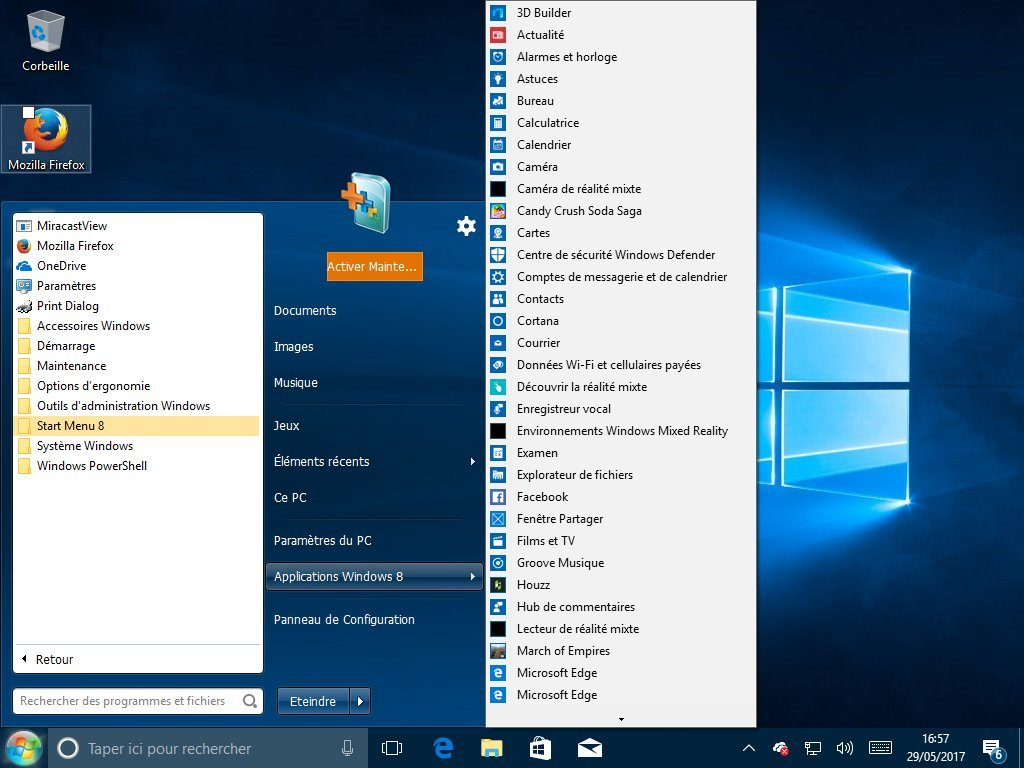 Image 8 : Windows 10 : comment lui redonner le look et les fonctions de Windows 7 ?