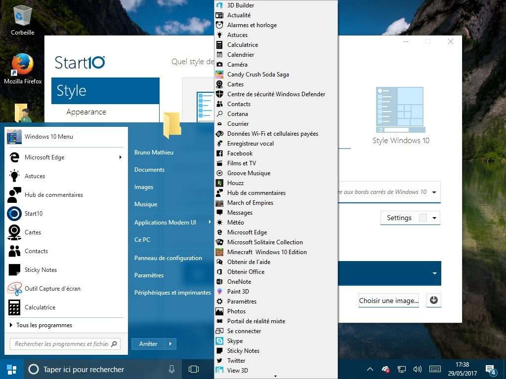 Image 9 : Windows 10 : comment lui redonner le look et les fonctions de Windows 7 ?