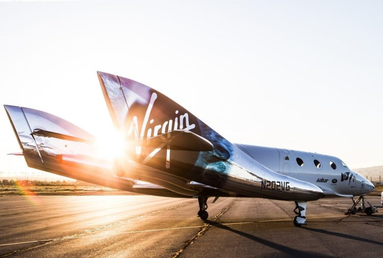 Image 1 : Virgin Galactic va implanter une base de lancement spatial en Italie