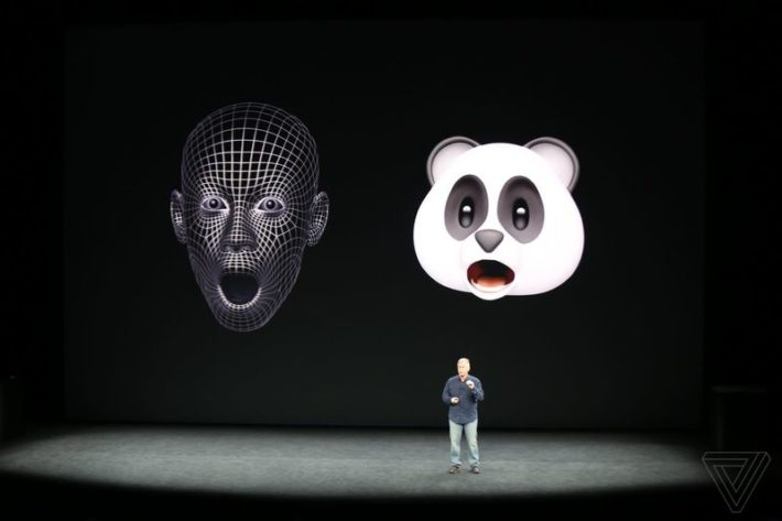 Image 1 : iPhone X : Apple transforme vos expressions faciales en de véritables emojis animés