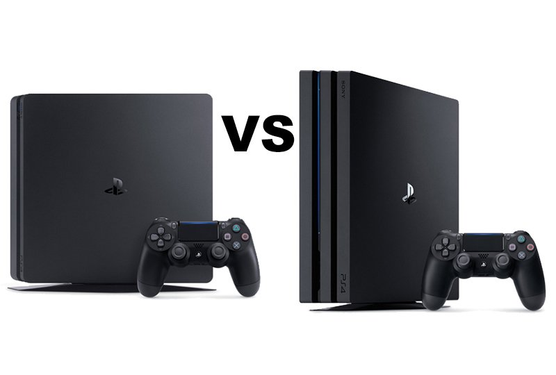 ps4 slim vs ps4 pro quelle console choisir chez sony. Black Bedroom Furniture Sets. Home Design Ideas