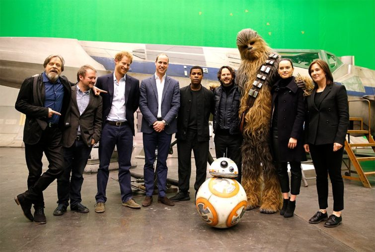 Image 1 : Star Wars Les Derniers Jedi : les princes Harry et William se font couper au montage