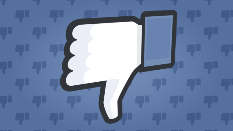 "Image 1 : Facebook va tester le bouton ""Downvote"""