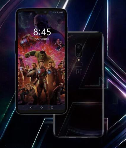 """Image 1 : OnePlus dévoile le OnePlus 6 """"Avengers : Infinity War"""" Edition"""