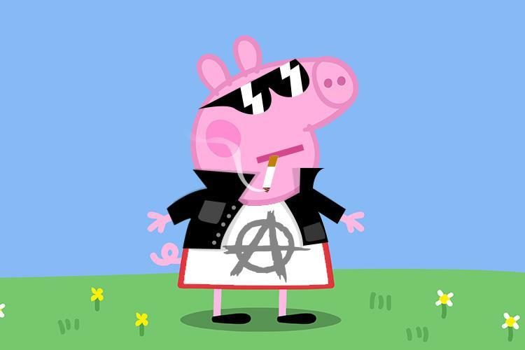 peppa pig gouvernement chinois