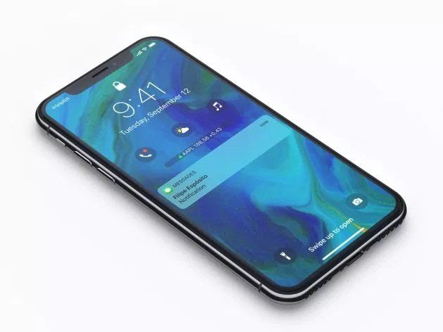 Image 1 : Un concept d'iOS 12 imagine un écran de verrouillage new look pour l'iPhone