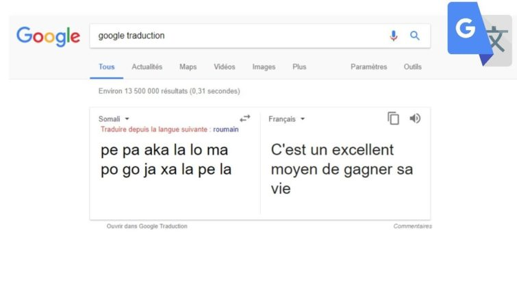 Image 1 : Google améliore Traduction à coup de machine neuronale