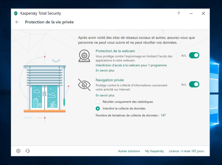 Image 9 : Kaspersky Total Security : on a testé la version 2019 de l'antivirus
