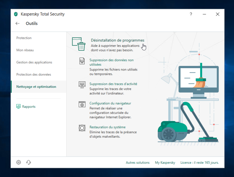 Image 4 : Kaspersky Total Security : on a testé la version 2019 de l'antivirus