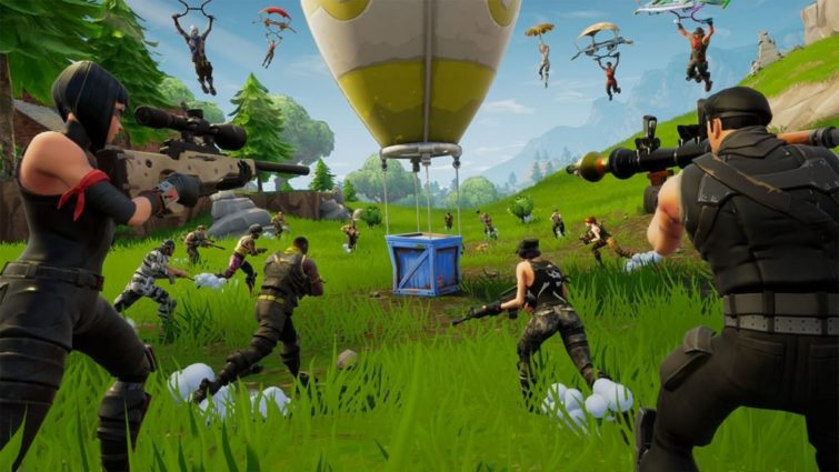 Image 1 : Fortnite : la version Android devrait être exclusive au Galaxy Note 9 pendant un mois