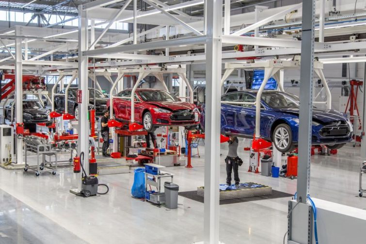 Image 1 : Tesla atteint in extremis les objectifs de production de la Model 3