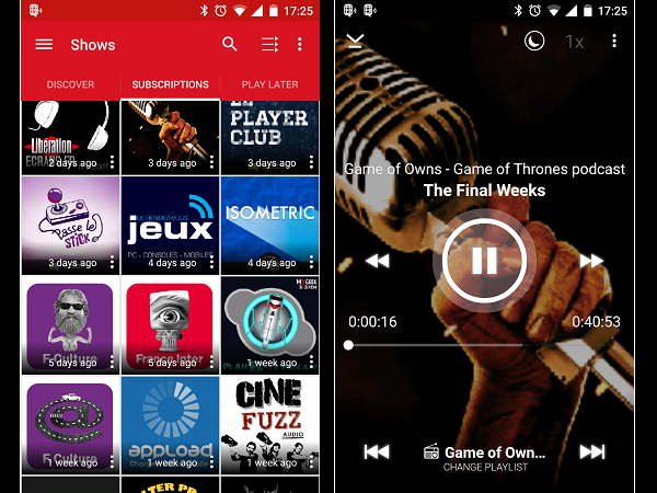 Image 6 : Podcasts : les meilleures applications pour Android