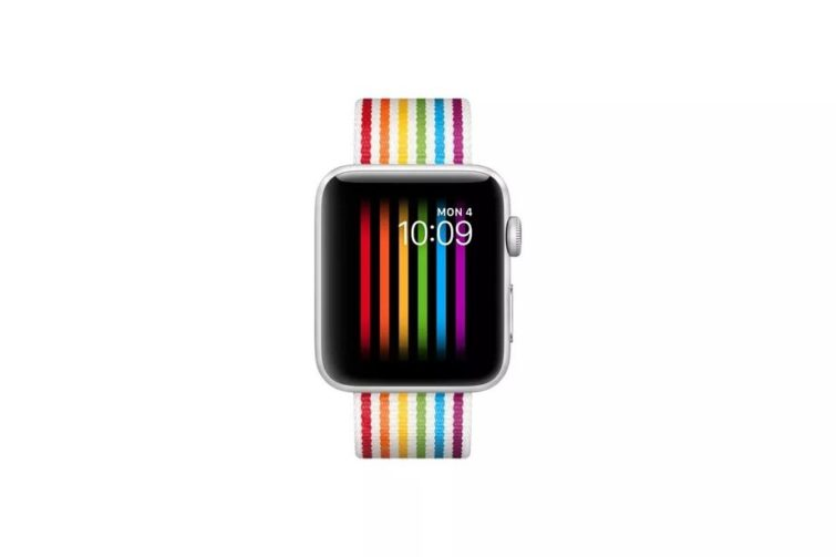 Image 1 : Apple bloque le fond d'écran gay pride de sa Watch en Russie