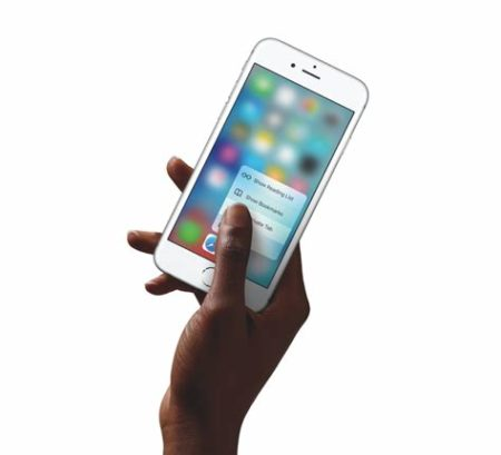 Image 1 : iPhone 2019 : adieu 3D Touch ?