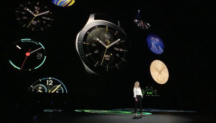 Image 1 : Montre connectée : Samsung officialise sa nouvelle Galaxy Watch