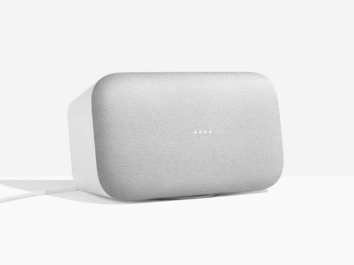 Image 1 : [Sponso] Google Home Max : l'enceinte intelligente survitaminée de Google arrive en France