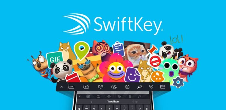 Image 1 : L'application Swiftkey sur Android propose maintenant une traduction en temps réel des messages