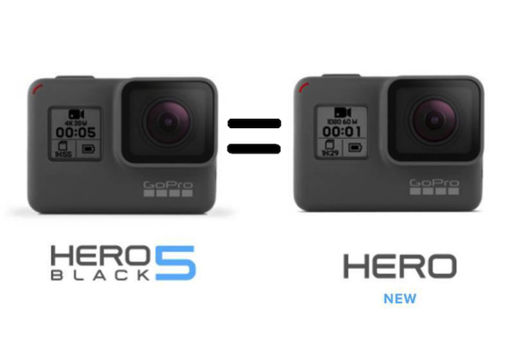 Image 1 : GoPro : comment transformez votre Hero 2018 en Hero5 Black ?