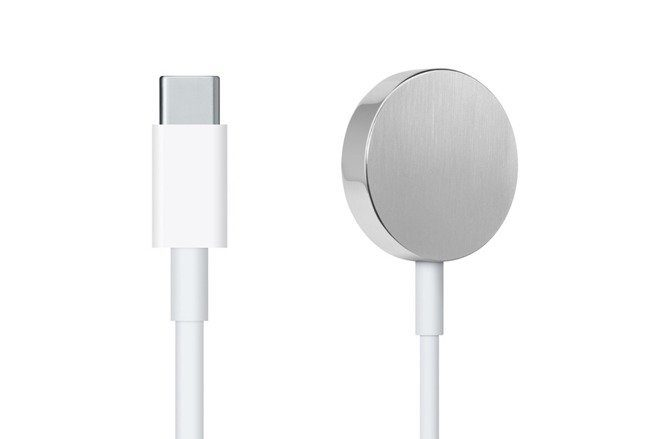 Image 1 : Un chargeur USB-C pour l'Apple Watch