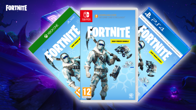 Image 1 : Epic Games va commercialiser des jeux physiques Fortnite : Deep Freeze Bundle