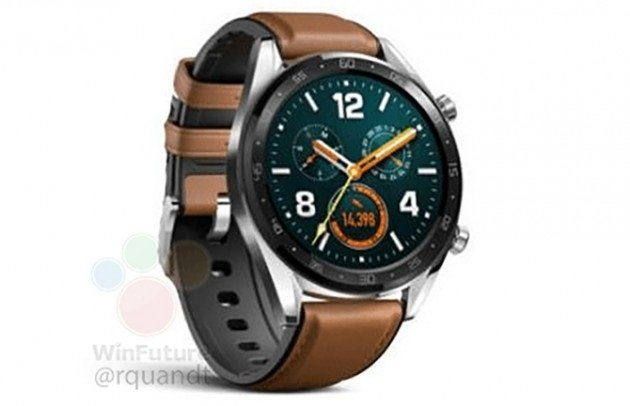 Image 1 : La Huawei Watch GT fuite avant son officialisation