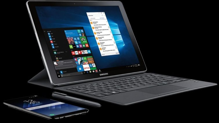 Image 1 : Galaxy Book2 : Samsung fait évoluer sa tablette Windows 10