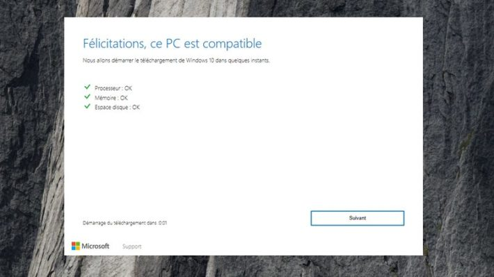 Image 7 : Windows 10 : comment télécharger la grosse mise à jour d'octobre 2018 ?