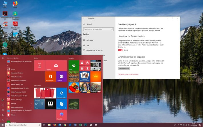 Image 1 : Windows 10 : comment télécharger la grosse mise à jour d'octobre 2018 ?