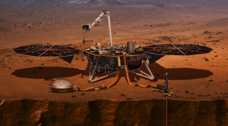 Image 1 : La NASA va streamer en live l'atterrissage d'inSight sur Mars