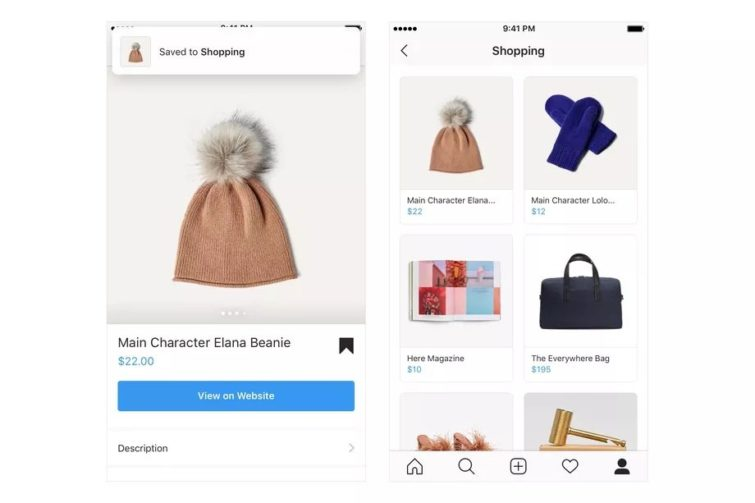 Image 1 : Comment Instagram se transforme progressivement en espace de son shopping