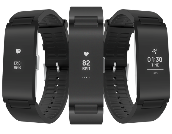 Image 1 : Withings concurrence Fitbit avec son bracelet Pulse HR