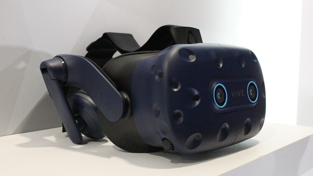 Image 1 : Vive Pro Eye : le casque VR de HTC évolue