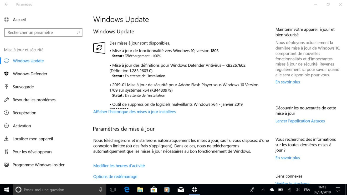 Image 12 : Windows 7 est mort : comment migrer gratuitement vers Windows 10 ?