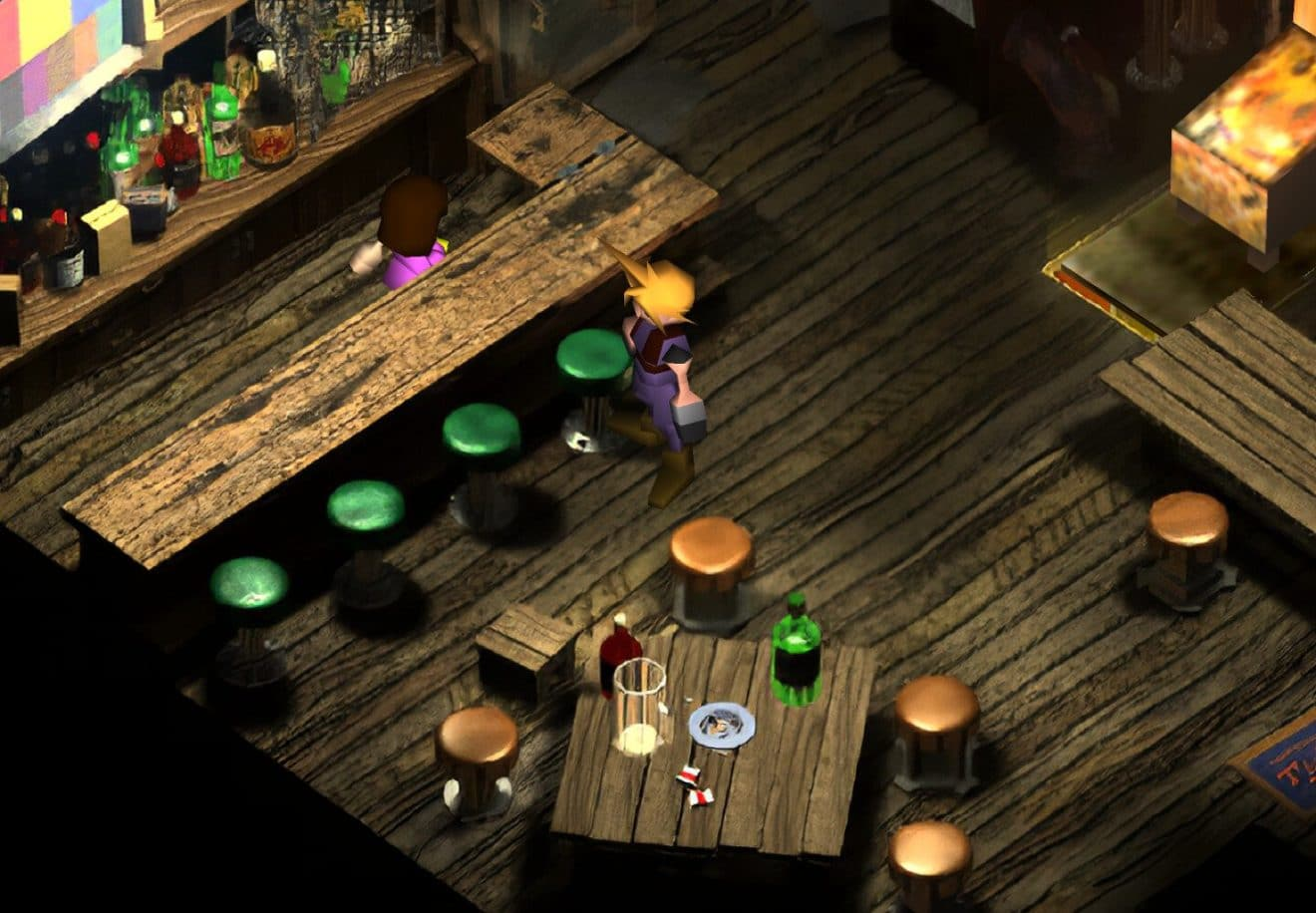 Image 1 : Final Fantasy VII passe à la HD avec un mod intelligent