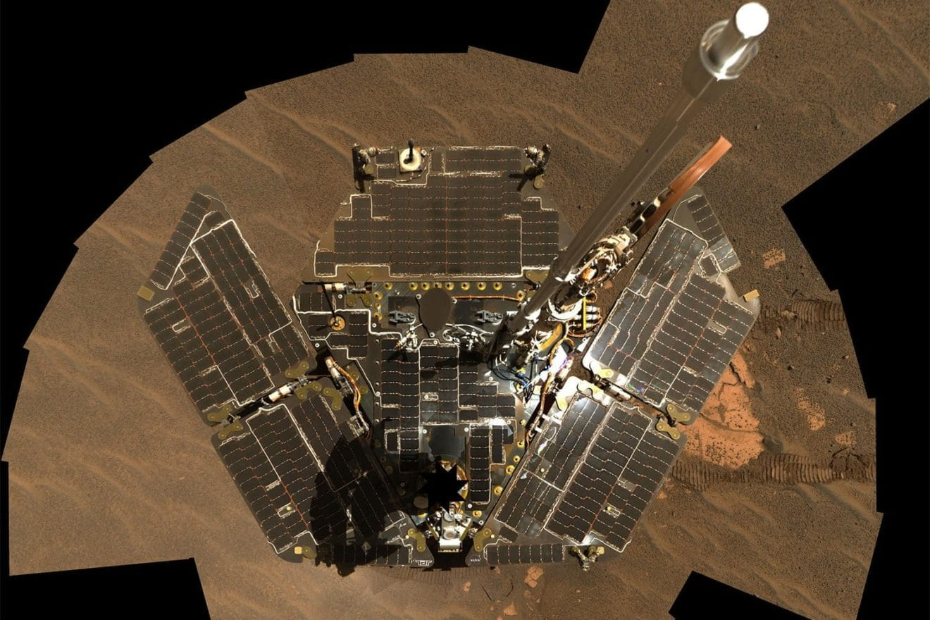 Image 1 : La NASA déclare Opportunity officiellement mort