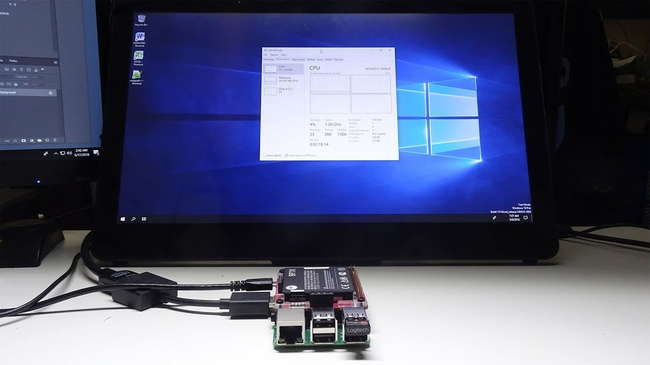 Image 1 : Un Raspberry Pi 3 sous Windows 10 sous ARM ? Maintenant c'est possible