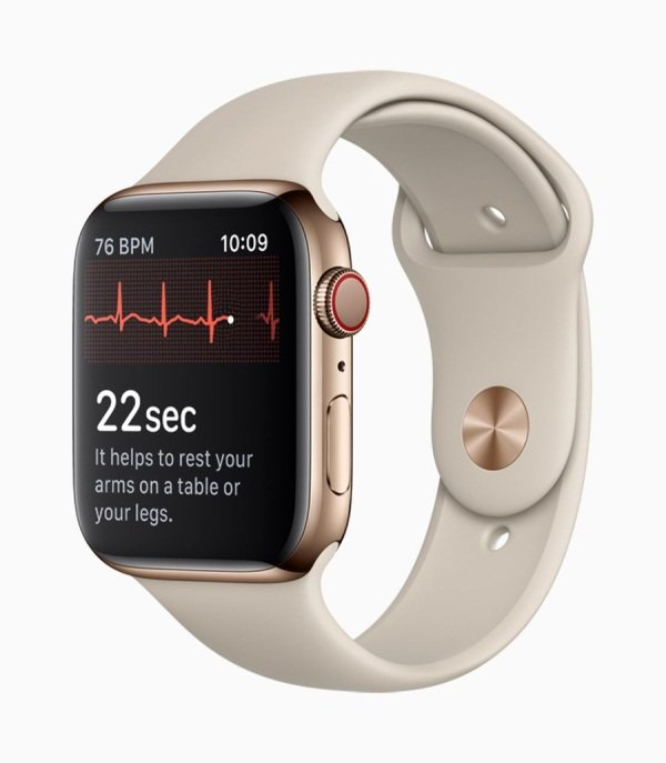 Image 1 : La fonction ECG de l'Apple Watch bientôt disponible en Europe ?