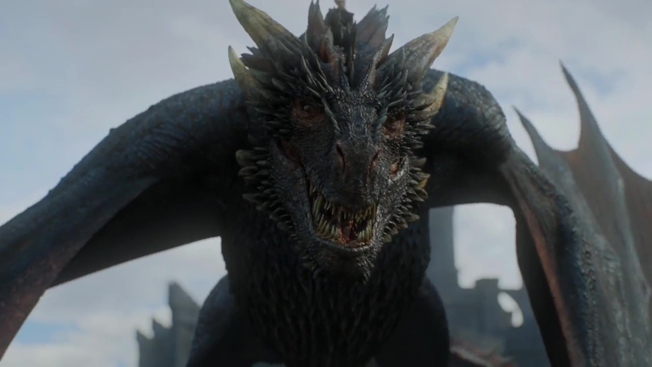 Game Of Thrones Comment Les Dragons Sont Ils Animés