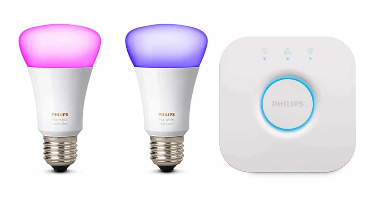 Image 1 : [Promo] Le kit Philips White & Color (2 ampoules) à 80 €