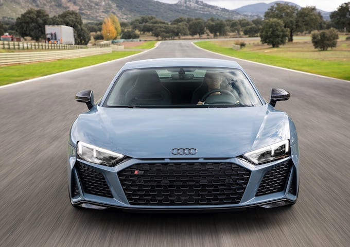 Image 1 : Audi : on a essayé la nouvelle R8 Performance
