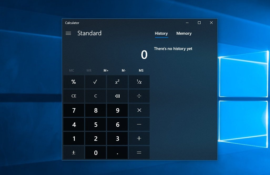 Image 1 : Le code source de la Calculatrice Windows est maintenant disponible sur Github