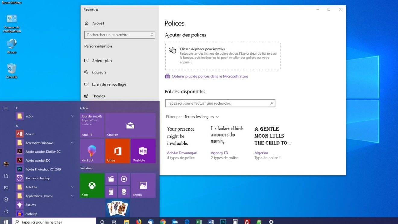 Image 1 : Windows 10 : les principales nouveautés de la May 2019 Update (19H1)