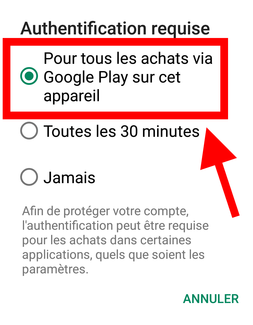 achat facture android