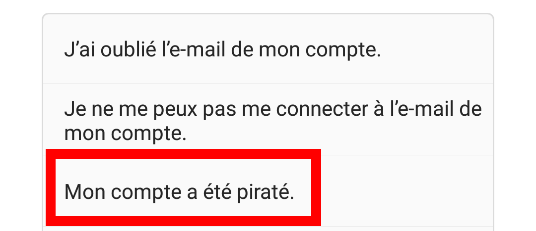 instagram compte pirate