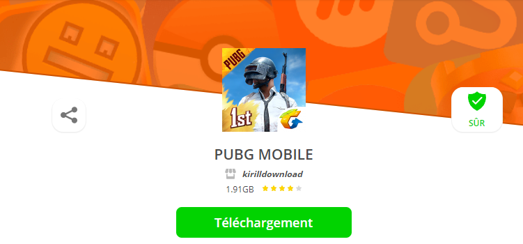 page application telechargement aptoide