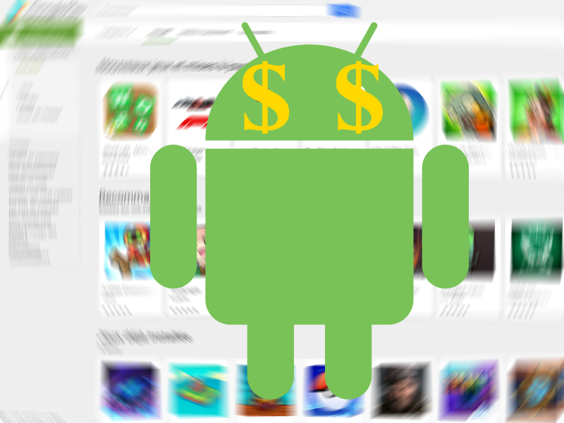 Google Play Store facture hors forfait