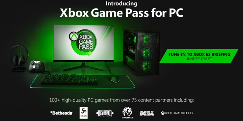 Image 1 : Microsoft officialise son Xbox Game Pass pour PC