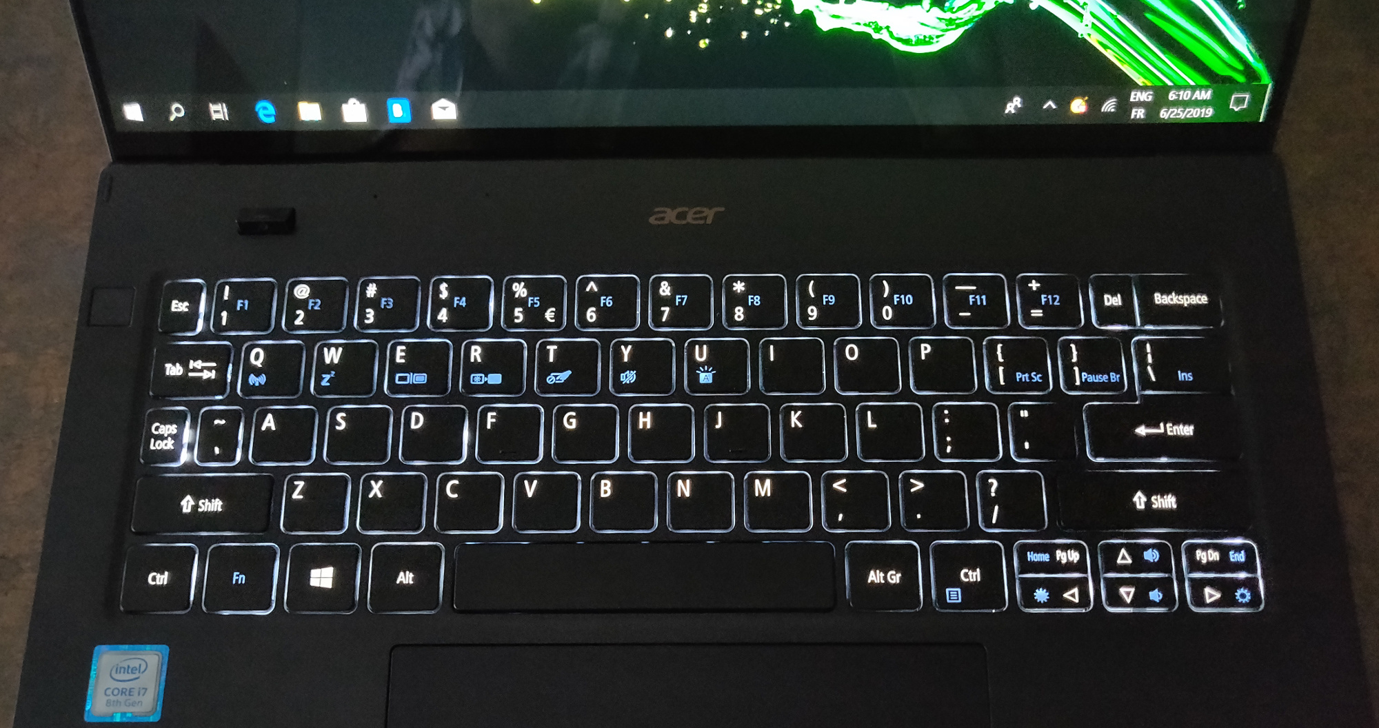 Image 12 : [Test] Acer Swift 7 : l'ultramobilité à outrance