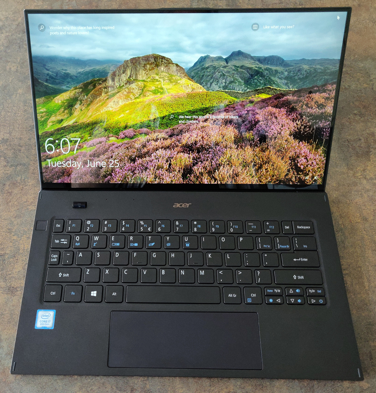 Image 3 : [Test] Acer Swift 7 : l'ultramobilité à outrance